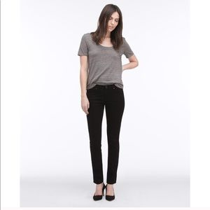 "AG ""the legging"" Skinny Black Jeans"